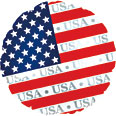 U.S. Patriotic Mylar Balloon