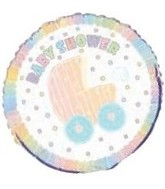 18'' Baby Shower Carriage Balloon