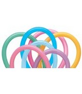 260Q Vibrant Assorted Twisting Animal Balloons