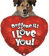 "39"" Doggone Love You Google Eye"