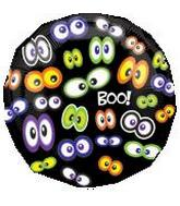 18'' Glowing Eyeballs Boo Balloon