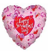 "18"" Sweetest Day Pink Hearts"