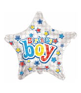 "18"" Birthday Boy Balloon"