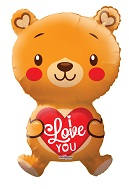 "28"" Big Bear I Love You Balloon"