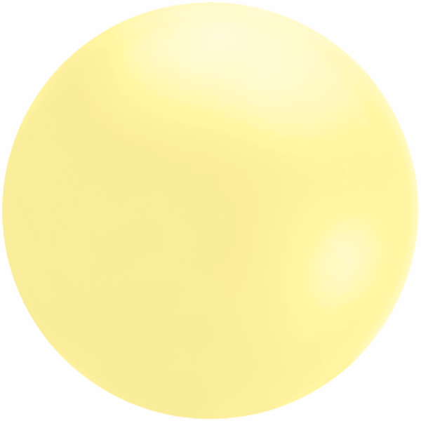 Cloudbuster 4' Pastel Yellow Cloudbuster Balloon