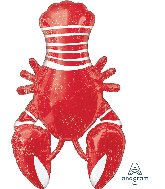 "39"" Seafood Lobster Fest Foil Balloon"
