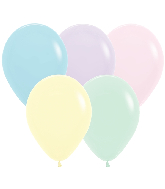 "5"" Betallatex Pastel Matte Mixed Latex Balloons (100CT)"