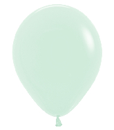 "11"" Betallatex Pastel Matte Green Latex Balloons (100CT)"