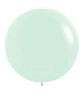 "24"" Betallatex Pastel Matte Green Latex Balloons (10CT)"