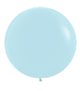 "24"" Betallatex Pastel Matte Blue Latex Balloons (10CT)"