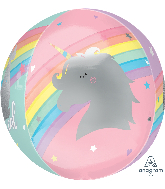 "16"" Orbz™ XL™ Magical Rainbow Foil Balloon"