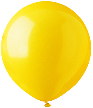 "17"" Standard Yellow Latex 72 Count"
