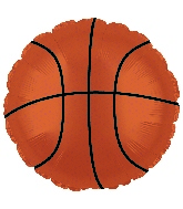 "18"" Basketball Orange CTI Brand Balloon"
