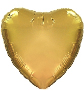 "18"" CTI Brand Antique Gold Heart"