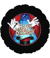 "18"" Happy Birthday Magic Party Balloon"
