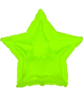 "9"" Airfill CTI Lime Green Star M136"