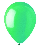 "12"" Standard Aqua Green Latex (10 Per Bag)"