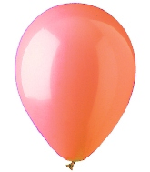 "12"" Standard LightOrange/Peach Latex (10 Per Bag)"