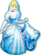 "48"" Cinderella Princess Jumbo Airwalker Balloon"