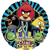 "28"" Sing-A-Tune Angry Birds Balloon"