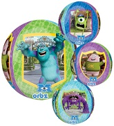 "16"" Monsters University Characters Orbz Balloons"