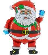 "24"" Santa Claus Jumbo Christmas Balloon"