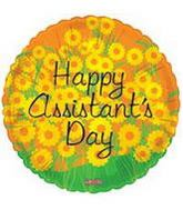 "18"" Happy Assistant's Day Balloon Flowers"