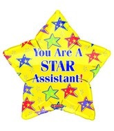 "18"" You're a Star Assistant Yellow"