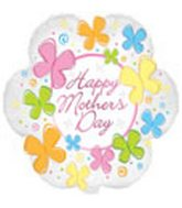 "18"" Happy Mother's Day Flower Shape"