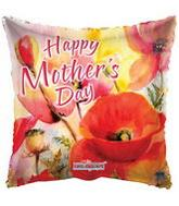"18"" Happy Mother's Day Orange Balloon"