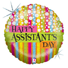 "18"" Assistant's Day Fashion Balloon"