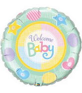 "36"" Welcome Baby Soft Patterns"