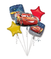 Bouquet Balloon Lightning McQueen Balloon