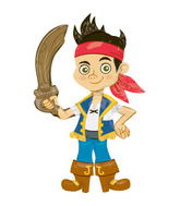 "75"" Jake The Pirate Airwalker Balloon"
