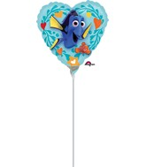 "9"" Airfill Only Finding Dory Love Balloon (Nemo)"