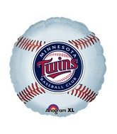 "18"" MLB Minnesota Twins Baseball Balloon"
