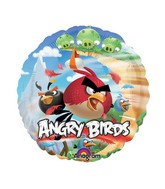 "9"" Mini Balloon (Airfill Only) Angry Birds"