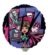 "9"" Airfill Only Monster High Group"