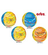 "16"" Celebrate Streamers Orbz Balloons"