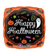 "18"" Halloween Chalkboard Balloon"