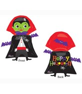 "31"" SuperShape Dracula Balloon Packaged"