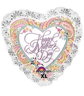 "28"" SuperShape Happy Mother's Day Paisley"