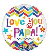 "18"" Love You Papa Balloon"