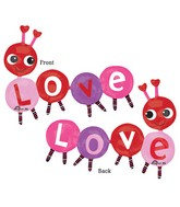 "55"" Multi-Balloon Love Bug Balloon Packaged"