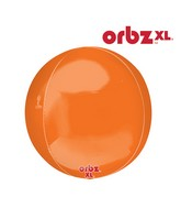"16"" Orbz Orbz Orange Balloon"