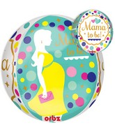"16"" Jumbo ORBZ: Mom To Be Balloon Packaged"