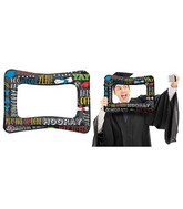 "21"" Airfill #Grad Selfie Frame Balloon Packaged"