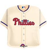 "24"" MLB Philadelphia Phillies Jersey Balloon"