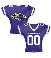 "24"" Balloon Baltimore Ravens Jersey"