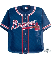 "24"" Atlanta Braves Jersey Balloon"